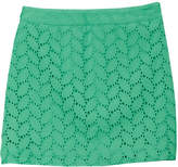 Brooks Brothers Girls' Eyelet Skirt