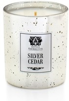 Antica Farmacista Silver Cedar Mercury Glass Candle