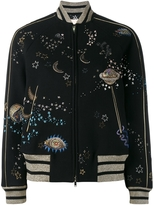 Valentino Cosmic Couture Bomber Jacket