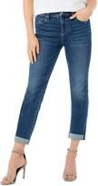 Liverpool Marley Cuffed Girlfriend Jeans