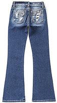 Miss Me Girls Big Girls 7-16 Floral-Pocket Bootcut Jeans