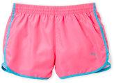 Puma Girls 7-16) Woven Contrast Shorts