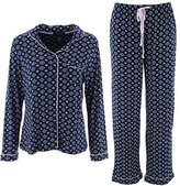 Rene Rofe Women's Notched Collar Pajama Set-