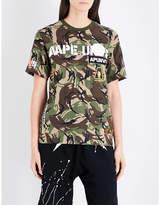Aape Camo-print cotton-jersey T-shirt