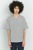 Armor Lux White And Blue Classic Stripe T-shirt