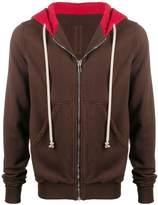 Rick Owens Jason's zip-up cotton hoodie
