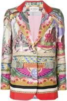 Etro Circus print blazer