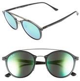 Ray-Ban Women's Tech 49Mm Aviator Sunglasses - Green Mirror