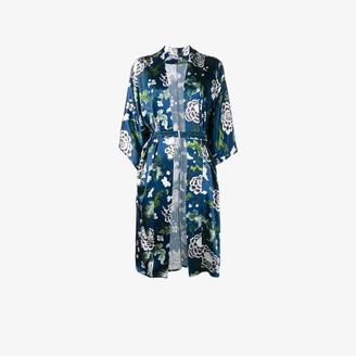 Adam Lippes Floral Print Kimono Jacket