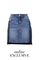 DECJUBA O/E Athens Denim Skirt