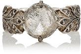 Cathy Waterman Women's Rustic Diamond Leafside Ring