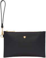 Versace Black Small Leather Medusa Pouch