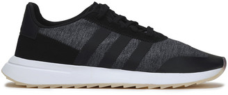 adidas Suede, Leather And Stretch-knit Sneakers