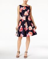 Jessica Howard Floral-Print Fit and Flare Dress