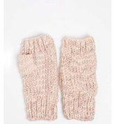 Dorothy Perkins Womens Pink Fingerless Gloves- Pink