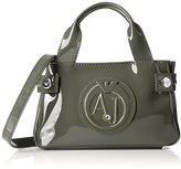 Armani Jeans Eco Patent Leather Crossbody Mini Bag