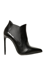 Saint Laurent 110mm Paris Pointed Calfskin Boots