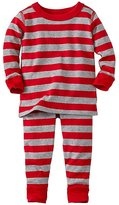 Baby Long John Pajamas In Organic Cotton