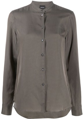 Aspesi Check Long Sleeve Shirt