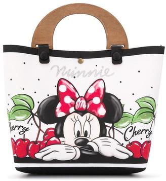 MonnaLisa Minnie Mouse print tote
