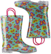 Carter's Western Chief Flutter Fierce Light Up Rain Boots