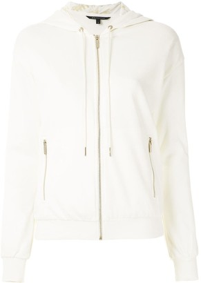 Armani Exchange Zipped-Up Hoodie