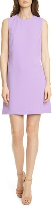 Alice + Olivia Coley Crepe A-Line Dress