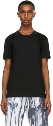 Alexander McQueen Black Harness T-Shirt