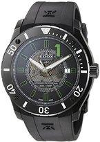 Edox Men's 80088 37N NV2 Chronoffshore Analog Display Swiss Automatic Black Watch