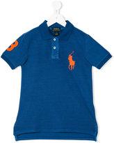 Ralph Lauren side slits polo shirt - kids - Cotton - 2 yrs