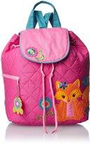 Stephen Joseph Little Girls' Quilted Backpack