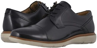 Florsheim Ignight Cap Toe Oxford (Black Smooth) Men's Shoes