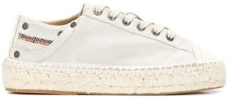 Diesel espadrille sneakers