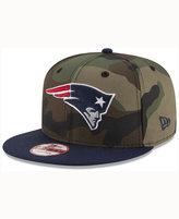 New Era New England Patriots Camo Two Tone 9FIFTY Snapback Cap
