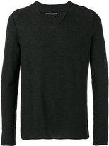 Hannes Roether - v-neck sweater - men - Cotton/Cashmere - M