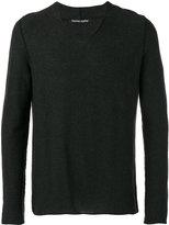 Hannes Roether - v-neck sweater - men - Cotton/Cashmere - S