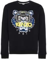 Kenzo tiger applique sweatshirt