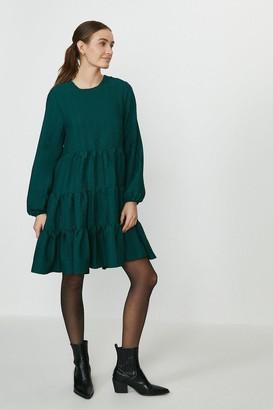 Coast Crinkle Tiered A-Line Dress