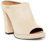 Calvin Klein Beitris Platform Open Toe Mule