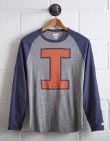 Tailgate Men's Illinois Fighting Illini Baseball Shirt