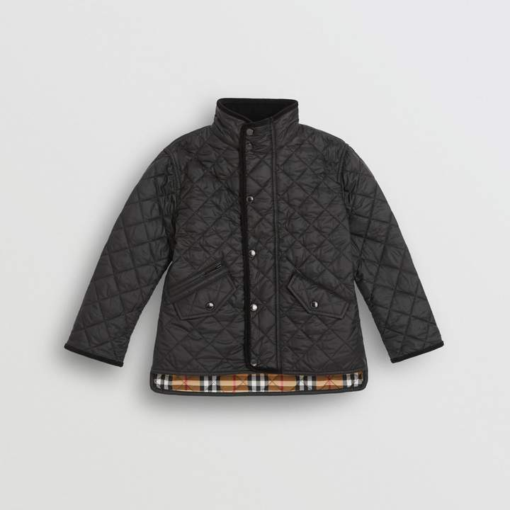 d7abe9d31 Kids Burberry Quilted Jacket - ShopStyle
