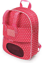 Badger Basket Plush Travel Backpack for 18'' Doll