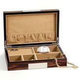 Bey-Berk Wood Valet Box