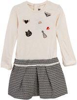 Catimini Girls Jaquard Skirt Dress