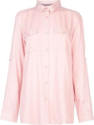 Kangol Military Long Sleeve Shirt Ladies