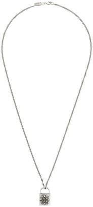 Emanuele Bicocchi Lock necklace