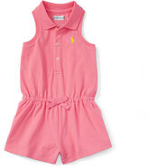 Ralph Lauren Cotton Sleeveless Polo Romper
