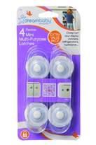Dream Baby Dreambaby L188 Multi Purpose Latches, 4 Pk - Black or White