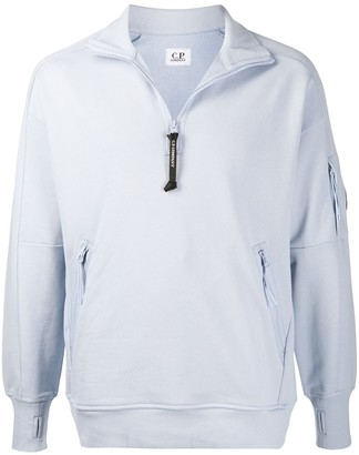 C.P. Company Zip Collar Sweatshirt