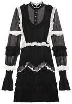 Gucci Sheer knit dress